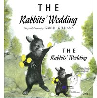 [������]The Rabbits' Wedding (Hardcover+ CD)