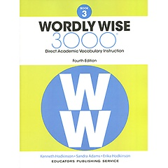 """<font title=""""Wordly Wise 3000 : Book 3 (Paperback/4th Ed.)"""">Wordly Wise 3000 : Book 3 (Paperback/4th...</font>"""