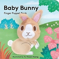 """<font title=""""Baby Bunny Finger Puppet Book (Hardcover / Board Book)"""">Baby Bunny Finger Puppet Book (Hardcover...</font>"""