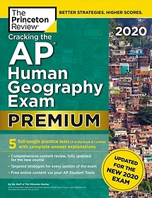 """<font title=""""Cracking the AP Human Geography Exam 2020, Premium Edition (Paperback)"""">Cracking the AP Human Geography Exam 202...</font>"""