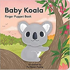 """<font title=""""Baby Koala Finger Puppet Book (Hardcover / Board Book)"""">Baby Koala Finger Puppet Book (Hardcover...</font>"""