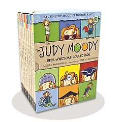 """<font title=""""The Judy Moody Uber-Awesome Collection: Books 1-9 (Paperback/ Box Edition)"""">The Judy Moody Uber-Awesome Collection: ...</font>"""