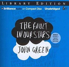"""<font title=""""The Fault in Our Stars (Audio CD/ Unabridged Library Edition)"""">The Fault in Our Stars (Audio CD/ Unabri...</font>"""