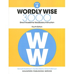 """<font title=""""Wordly Wise 3000 : Book 4 (Paperback/4th Ed.)"""">Wordly Wise 3000 : Book 4 (Paperback/4th...</font>"""
