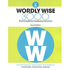 """<font title=""""Wordly Wise 3000 : Book 6 (Paperback/4th Ed.)"""">Wordly Wise 3000 : Book 6 (Paperback/4th...</font>"""