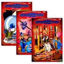 [DVD 영어동화] 안데르센 탄생 200주년 애니메이션 명작동화 (각 3disc) Vol3만 주문 가능!!