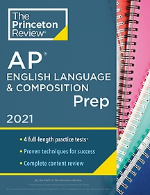 "<font title=""Princeton Review AP English Language and Composition Prep, 2021 (Paperback)"">Princeton Review AP English Language and...</font>"