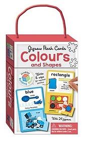"""<font title=""""Colours & Shapes Building Blocks - Jigsaw Flash Cards (Cards)"""">Colours & Shapes Building Blocks - Jigsa...</font>"""