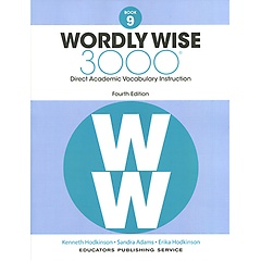 """<font title=""""Wordly Wise 3000 : Book 9 (Paperback/4th Ed.)"""">Wordly Wise 3000 : Book 9 (Paperback/4th...</font>"""