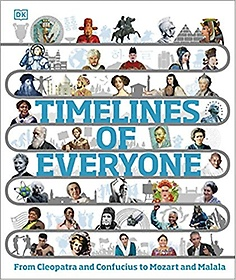 """<font title=""""Timelines of Everyone: From Cleopatra and Confucius to Mozart and Malala (Hardcover)"""">Timelines of Everyone: From Cleopatra an...</font>"""