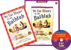 "<font title=""We Eat Dinner in the Bathtub - Scholastic Hello Reader Level 2-10 (Paperback + CD + Workbook)"">We Eat Dinner in the Bathtub - Scholasti...</font>"