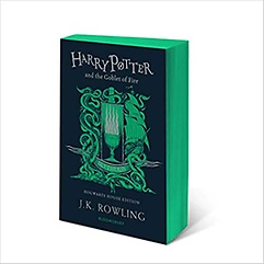 """<font title=""""GOBLET OF FIRE : SLYTHERIN HOUSE ED (Paperback)"""">GOBLET OF FIRE : SLYTHERIN HOUSE ED (Pap...</font>"""