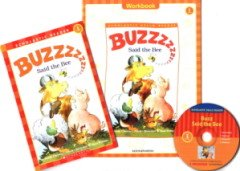 """<font title=""""Buzz Said the Bee - Scholastic Hello Reader Level 1-26 (Paperback + CD + Workbook)"""">Buzz Said the Bee - Scholastic Hello Rea...</font>"""