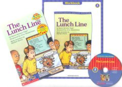 """<font title=""""Lunch Line - Scholastic Hello Reader Level 3-09 (Paperback + CD + Workbook)"""">Lunch Line - Scholastic Hello Reader Lev...</font>"""