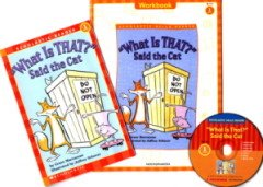 """<font title=""""What Is that Said the Cat - Scholastic Hello Reader Level 1-15 (Paperback + CD + Workbook)"""">What Is that Said the Cat - Scholastic H...</font>"""