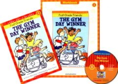 """<font title=""""The Gym Day Winner - Scholastic Hello Reader Level 1-35 (Paperback + CD + Workbook)"""">The Gym Day Winner - Scholastic Hello Re...</font>"""