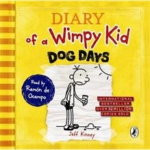 Diary of a Wimpy Kid #4 : Dog Days (Audio CD/ Unabridged Ed./ 도서별매)