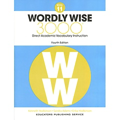 """<font title=""""Wordly Wise 3000 : Book 11 (Paperback/4th Ed.)"""">Wordly Wise 3000 : Book 11 (Paperback/4t...</font>"""