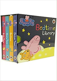 """<font title=""""Peppa Pig 4 Board Books Set Bedtime Library Collection (Boardbook)"""">Peppa Pig 4 Board Books Set Bedtime Libr...</font>"""