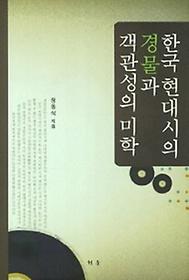 한국 현대시의 경물과 객관성의 미학