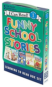 """<font title=""""Funny School Stories: Learning to Read Box Set (Paperback)"""">Funny School Stories: Learning to Read B...</font>"""