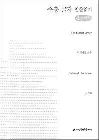주홍 글자 천줄읽기 (큰글씨책)