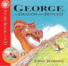 """<font title=""""George, The Dragon and the Princess (Paperback+CD)"""">George, The Dragon and the Princess (Pap...</font>"""