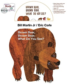 """<font title=""""Brown Bear, Brown Bear, What Do You See? (Paperback+CD)"""">Brown Bear, Brown Bear, What Do You See?...</font>"""