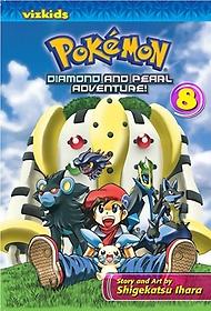 "<font title=""Pokemon Diamond and Pearl Adventure! 8 (Paperback)"">Pokemon Diamond and Pearl Adventure! 8 (...</font>"