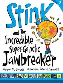 """<font title=""""Stink and the Incredible Super-Galactic Jawbreaker (Paperback/ Reprint Edition)"""">Stink and the Incredible Super-Galactic ...</font>"""