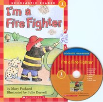 I'm a Fire Fighter - Scholastic Hello Reader CD Set 1-2 (Paperback+Audio CD)