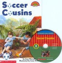 """<font title=""""Soccer Cousins - Scholastic Hello Reader CD Set 4-5 (paperback+Audio CD)"""">Soccer Cousins - Scholastic Hello Reader...</font>"""