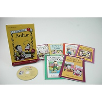 [I Can Read Book] Level 2. Arthur �ø��� 6�� ��Ʈ (å6��+CD1��)