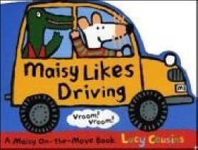 Maisy Likes Driving (Board book)