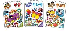 코뿔소 스티커북 만3~4세 세트 (전3권)