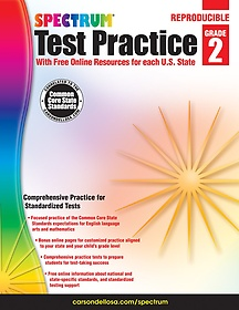 Spectrum Test Practice, Grade 2 (Paperback)