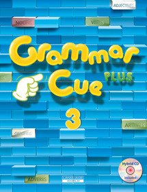 """<font title=""""Grammar Cue Plus 3 : Studentbook (Paperback+ CD+ Workbook)"""">Grammar Cue Plus 3 : Studentbook (Paperb...</font>"""