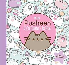 Mini Pusheen Coloring Book (Paperback)