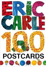 Eric Carle: 100 Postcards (Hardcover)