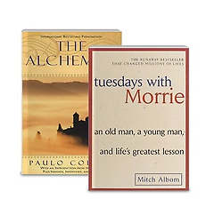 Tuesdays with Morrie + The Alchemist 패키지