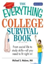 The Everything College Survival Book: From Social Life to Study Skills--All You Need to Fi..