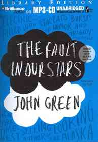 """<font title=""""The Fault in Our Stars (MP3 CD/ Unabridged Library Edition)"""">The Fault in Our Stars (MP3 CD/ Unabridg...</font>"""