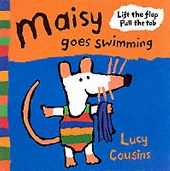 Maisy Goes Swimming (Flap book)
