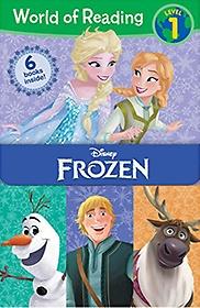 "<font title=""Frozen Boxed Set - World of Reading Level 1 (Paperback)"">Frozen Boxed Set - World of Reading Leve...</font>"