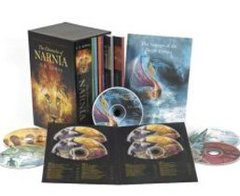 """<font title=""""The Chronicles of Narnia Book & Audio Box Set (Paperback/ 미국판)  """">The Chronicles of Narnia Book & Audio Bo...</font>"""