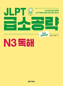 JLPT 급소공략 N3 독해