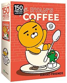 "<font title=""카카오프렌즈 직소 퍼즐 - 크래프트 커피 (150조각)"">카카오프렌즈 직소 퍼즐 - 크래프트 커피 (...</font>"