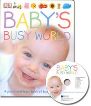 [��ο�]Baby's Busy World (Board Book + CD)