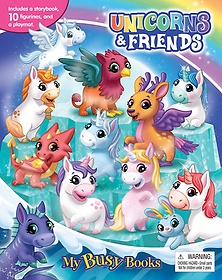 "<font title=""Unicorns & Friends My Busy Book 유니콘과 친구들 비지북 (미니피규어 10개 + 놀이판)"">Unicorns & Friends My Busy Book 유니콘과...</font>"