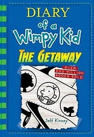 """<font title=""""Diary of a Wimpy Kid Book 12 : The Getaway   (Hardcover)"""">Diary of a Wimpy Kid Book 12 : The Getaw...</font>"""